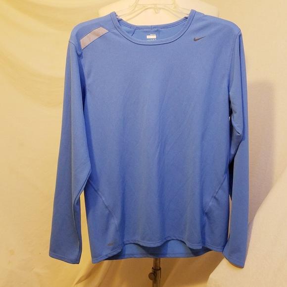 Nike Other - NIKE Dri-fit Blue Long Sleeve Shirt, Large